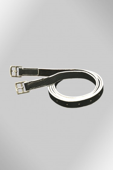 Leather equalizer girth
